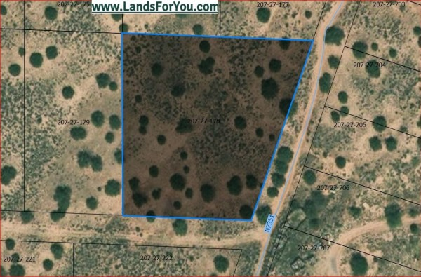 1.88 Acres for Sale in Sanders, AZ