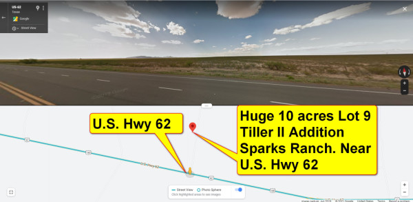 10 Acres for Sale in Salt Flat, Near Dell City, TX