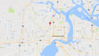 Witschen Ave, JAX, FL - Area map
