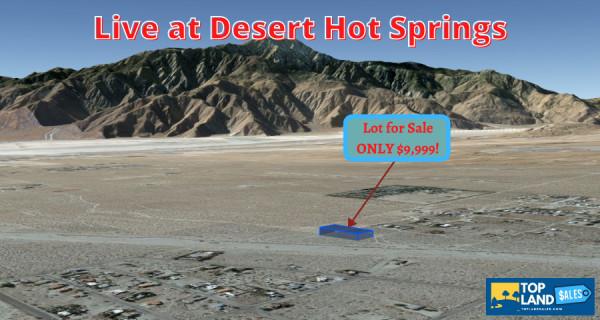 1.25 Acres for Sale in Desert Hot Springs, CA