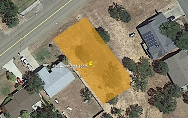 0.25 Acres for Sale in Red Bluff, CA