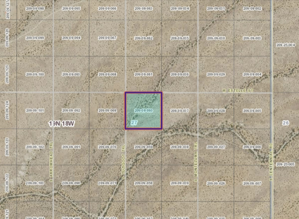 2.5 Acres for Sale in Kingman, AZ