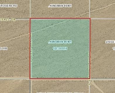 40.04 Acres for Sale in Yucca, AZ
