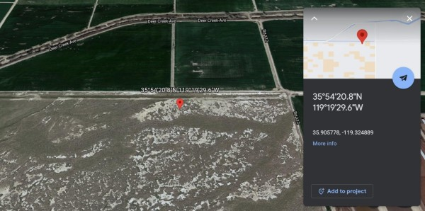 2.5 Acres for Sale in Earlimart, CA