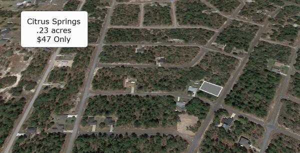 0.23 Acres for Sale in Citrus Springs, FL