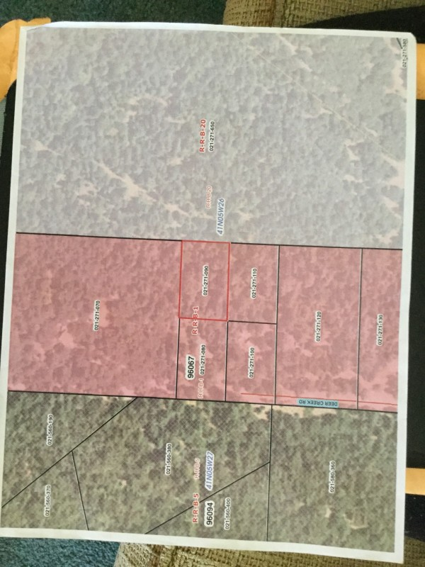 1 Acre for Sale in Mt. Shasta, CA