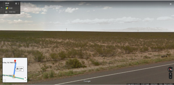 3 Lots for Sale in Salt Flat Near Dell City, TX