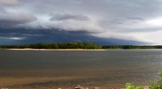 Stormy Day at Sam Rayburn Marina Resort