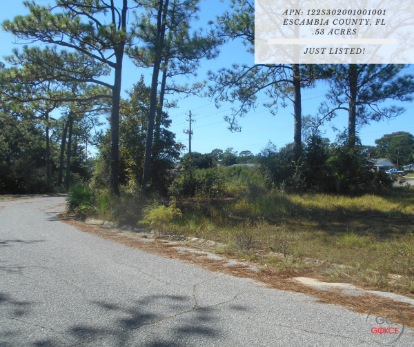 0.53 Acres for Sale in Pensacola, FL