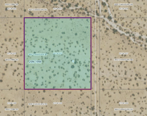 2.35 Acres for Sale in Golden Valley, AZ