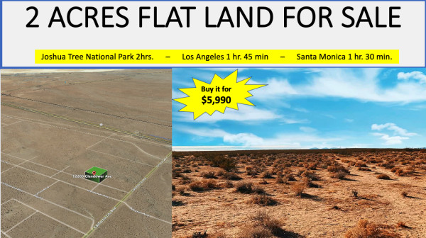 2 Acres for Sale in Mojave, CA