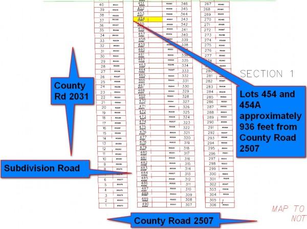 454 Plat Map