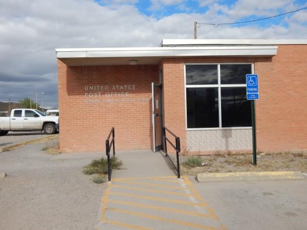Sierra Blanca Post Office nearby