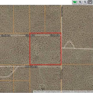 10 Acres for Sale in Mojave, CA