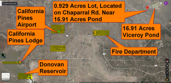 Lot 42 and surrounding area