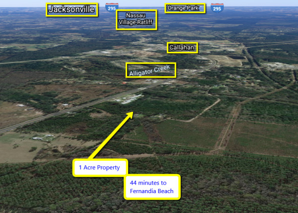 1 Acre for Sale in Callahan, FL