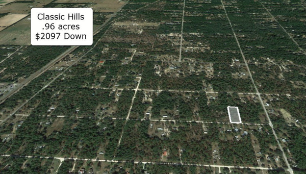 0.96 Acres for Sale in Dunnellon, FL