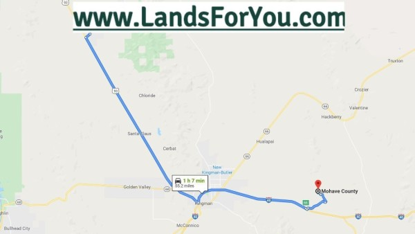 1.25 Acres for Sale in Dolan Springs, AZ