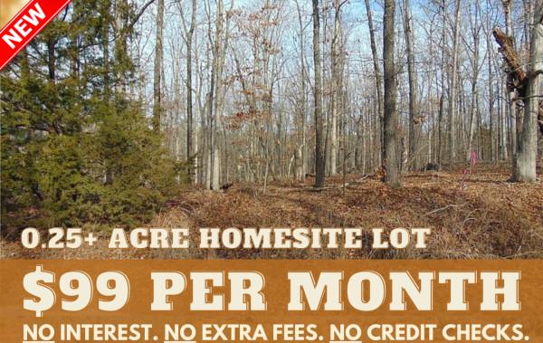 0.25 Acres for Sale in Bella Vista, AR