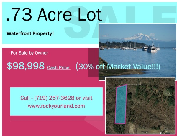 0.73 Acres for Sale in Shelton, WA