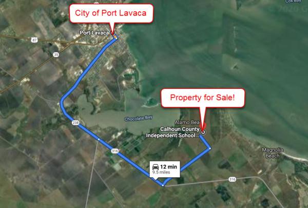 0.2 Acres for Sale in Port Lavaca, TX