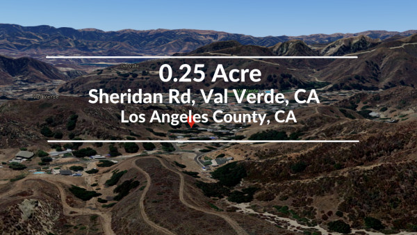 0.25 Acres for Sale in Val Verde, CA