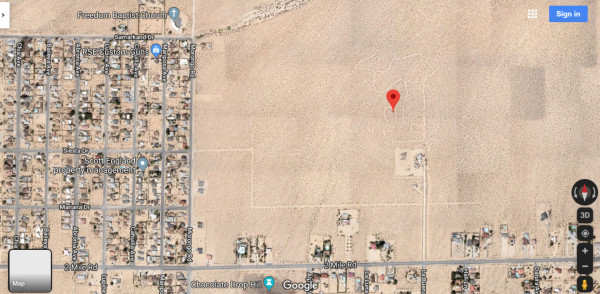 1.25 Acres for Sale in Twentynine Palms, CA