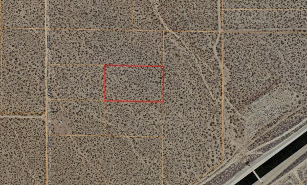 2.5 Acres for Sale in Palmdale, CA