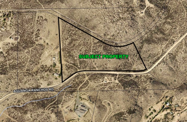 18.12 Acres for Sale in Aguanga, CA