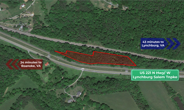 4.57 Acres for Sale in Thaxton, VA