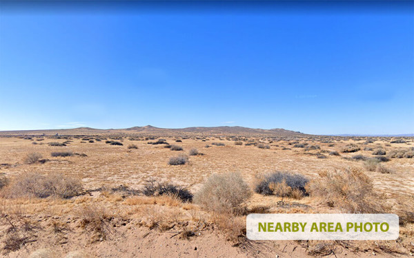 5 Acres for Sale in Barstow, CA