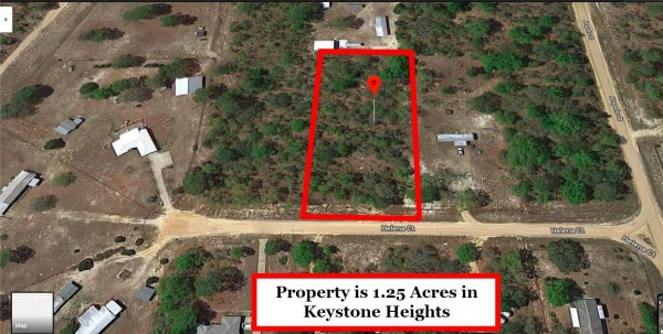 1.25 Acres for Sale in Keystone Heights, FL