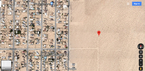 0.63 Acres for Sale in Twentynine Palms, CA