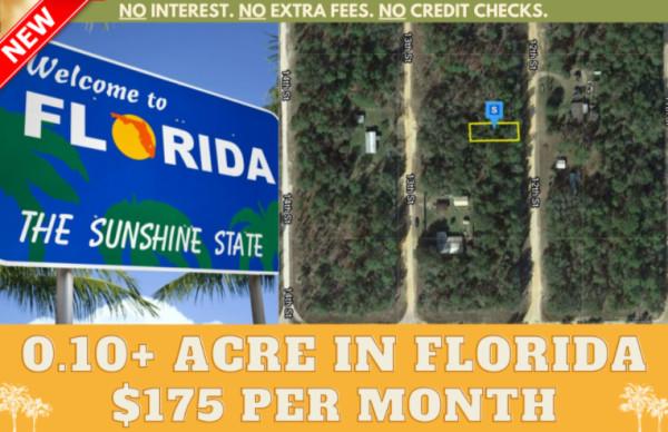 0.1 Acres for Sale in Interlachen, FL