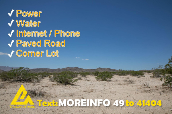 3.94 Acres for Sale in Twentynine Palms, CA