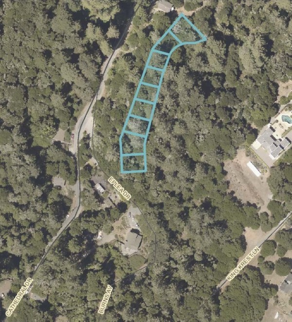 9 Lots for Sale in Aptos, CA
