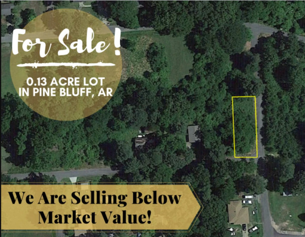 0.12 Acres for Sale in Pine Bluff, AR