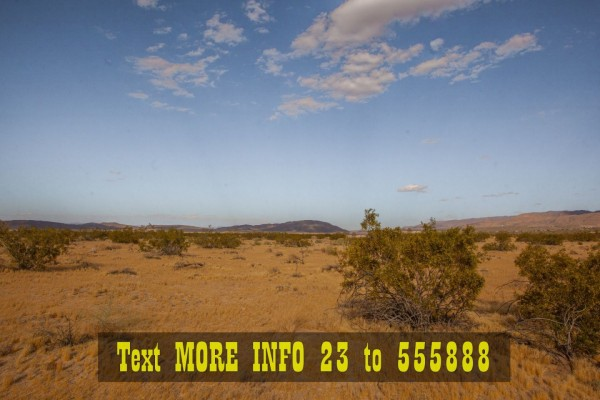 2.5 Acres for Sale in Joshua Tree, CA
