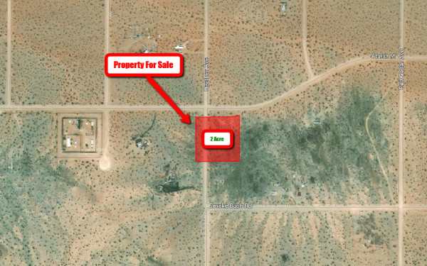 2 Acres for Sale in Lucerne Valley, CA