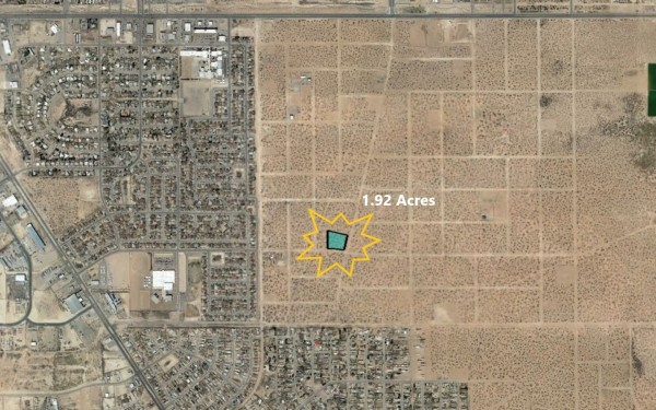 1.92 Acres for Sale in El Paso, TX