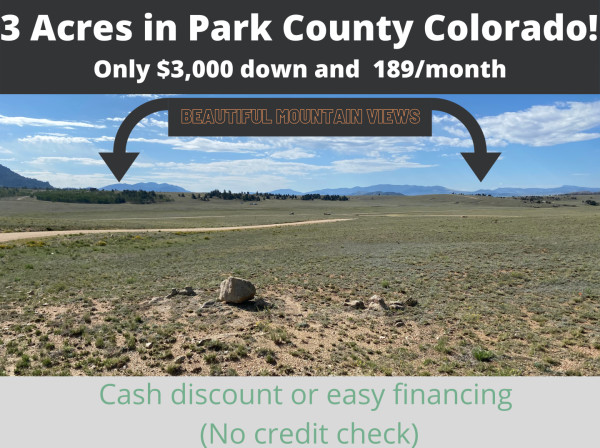 3 Acres for Sale in Lake George, CO