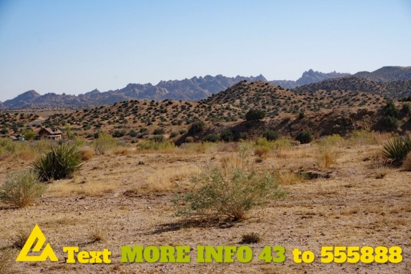 1.23 Acres for Sale in Pioneertown, CA