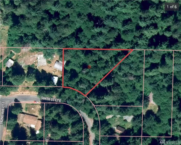 0.44 Acres for Sale in Ashford, WA