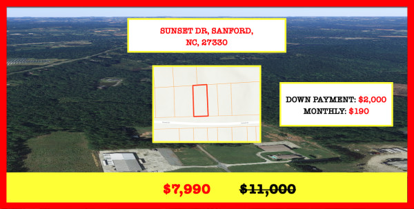 0.28 Acres for Sale in Sanford, NC