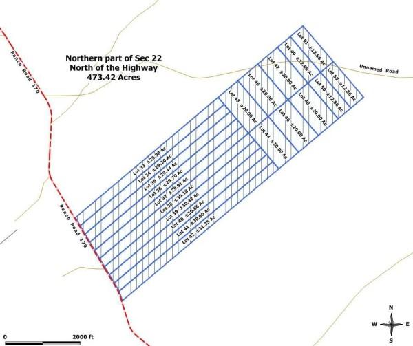 Lot Layout Map