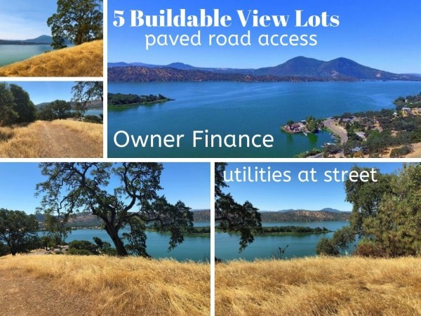 5 Lots for Sale in Clearlake Oaks, CA