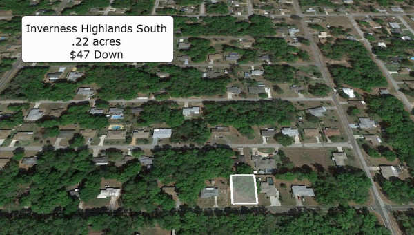 0.22 Acres for Sale in Inverness, FL