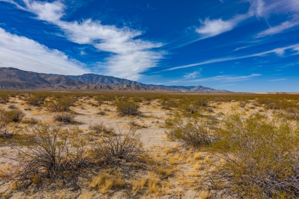 2.5 Acres for Sale in Landers, CA