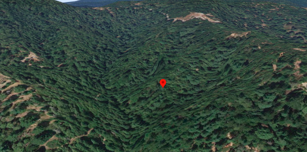 topographical view
