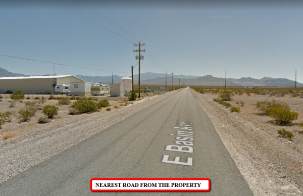 2.6 Acres for Sale in Pahrump, NV
